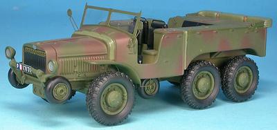Laffly W15 T, tractor, Francia, 2ª Guerra Mundial, 1:48, Gasoline