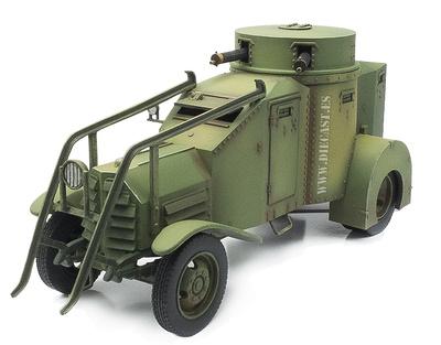 Lancia 1ZM Coche Blindado, España, 1936-39, 1:30, John Jenkins