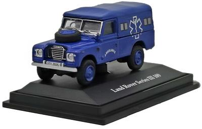 Land Rover 109 III Series, Ambulance, 1:72, Cararama