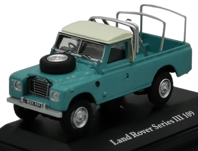 Land Rover 109 III Series, Pick-up, 1:72, Cararama