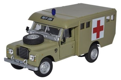 Land Rover 109 Serie III, Ambulancia Militar, 1:43, Oxford