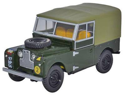"""Land Rover 88 """"Reme"""" Ejército Británico, 1950, 1:43, Oxford"""