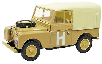 "Land Rover 88 Techo de Lona, ""Operation Hamilcar"", Canal de Suez, 1956, 1:76, Oxford"