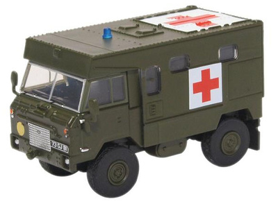 Land Rover Ambulancia FC 101, OTAN, 1:76, Oxford