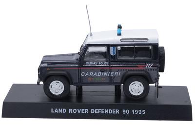 Land Rover Defender 90, Italia, 1995, 1/43, Colección Carabinieri