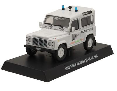 Land Rover Defender 90, UN, Military Police, 1998, 1/43, Carabinieri Collection