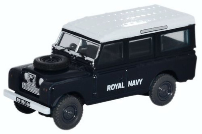 Land Rover Serie II, Station Wagon, Royal Navy, 1:76, Oxford