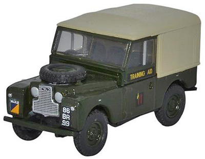 "Land Rover Series 1, 88"" Canvas, 6th Training Regiment, RCT, Reino Unido, 1:76, Oxford"