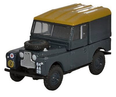 "Land Rover Series 1, 88"" Hard Back, RAF, Reino Unido, 1:76, Oxford"