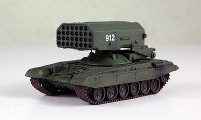 Lanzallamas TOS-1, Ejército Soviético, 1989, 1:72, Modelcollect