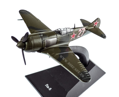 Lavochkin LA-5, 1942, 1:100, DeAgostini