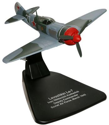 Lavochkin LA-7, Comandante Adjunto Ivan Nikitovich Kozhedub, Fuerza Aérea Soviética, Marzo, 1945, 1:72, Oxford