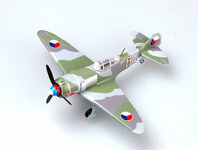 "Lavochkin La-7, ""White 64"" Fuerza Aérea Checa, 1:72, Easy Model"
