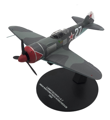 Lawotschkin LA-7, pilot Iwan Nikitowitsch Koschedud, 1945, 1:72, Atlas