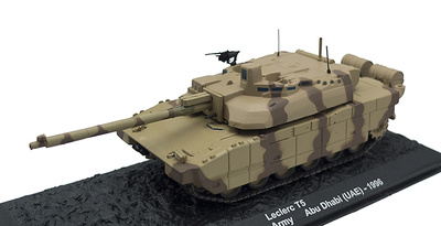 Leclerc T5, United Areb Emirates Army, 1996 1:72, Altaya
