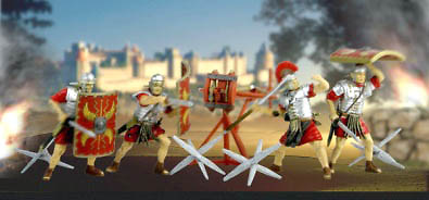 Legionarios romanos con catapulta, 1:32, Forces of Valor