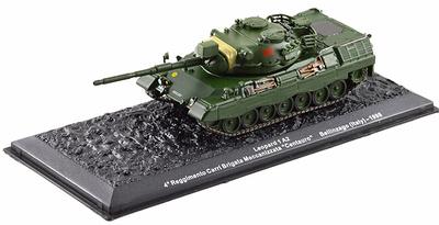 "Leopard 1A2, 4th Regiment Carri Brigata Meccanizzata ""Centauro"" Bellinzago, Italy, 1998, 1:72, Altaya"