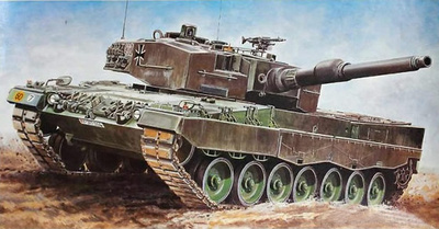 Leopard 2, Main Battle Tank, 1:35, Italeri