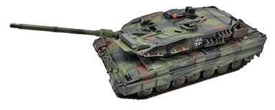 Leopard 2 A6 (camouflage), Germany, 2006, 1:72, Panzerkampf