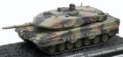 Leopard 2A5, Orahovac, Kosovo, 2000, 1:72, Altaya