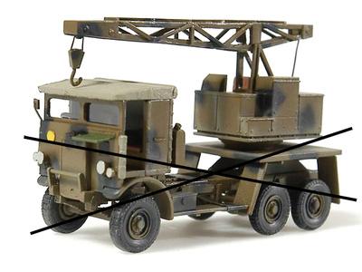 Leyland Crane (vehicle not included), 1:72, Wespe Models