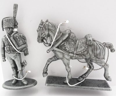 Lieutenant of the Hunters' Guard, Horse of Tire for Field Forge, 1:24, Atlas Editions
