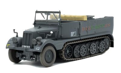 Light Semi-Trailer Truck (leichter Zugkraftwagen) 3 t, SdKfz 11, Germany, 1936-45, 1:43, Atlas