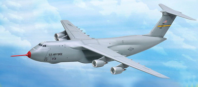Lockheed C-5M Super Galaxy, 418th Flight Test Squadron, 436th Airlift Wing, 1:400, Dragon Wings