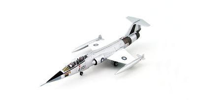Lockheed F-104B Starfighter 4101, ROCAF, Ching Chuan Kang AB, 1960, 1:72, Hobby Master