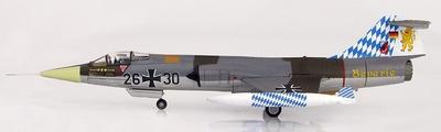 "Lockheed F-104G Starfighter 26+30, JG.32 ""Bavaria"", Luftwaffe, Julio, 1983, 1:72, Hobby Master"