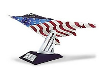 Lockheed F-117 Nighthawk (USAF Patriotic Fighter), 1:48, Franklin Mint