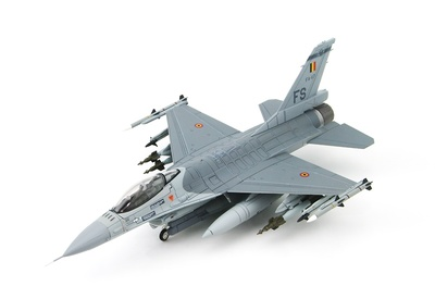 Lockheed F-16AM FA-117, Belgian Air Force, 2008, 1:72, Hobby Master