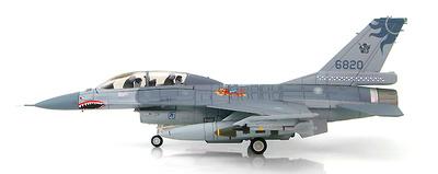 Lockheed F-16B Fighting Falcon 6820, 401st TFW, ROCAF, 2015, 1:72, Hobby Master