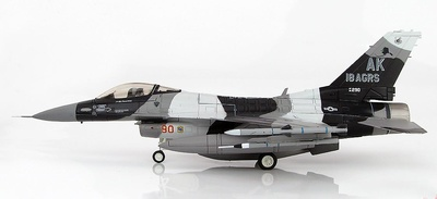 Lockheed F-16C Block 30 Fighting Falcon 86-0290, 18th Aggressor Sq. Commander, 2008, 1:72, Hobby Master