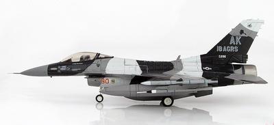 Lockheed F-16C Block 30 Fighting Falcon 86-0290, 18th Aggressor Squadron Commander, 2008, 1:72, Hobby Master