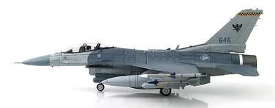 Lockheed F-16C Fighting Falcon 646, 143 Sqn., RSAF, Singapur, 1:72, Hobby Master