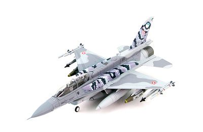Lockheed F-16D Polish Air Force with sniper pod 6.eskadra lotnicza (Best Flying Unit) 31. BLT NATO Tiger Meet 2014 Schleswig-Jagel Air Base, Germany, 1:72, Hobby Master