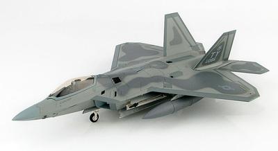 Lockheed F-22 Raptor 05-4086, 95th FS, RAF Lakenheath, Abril, 2016, 1:72, Hobby Master