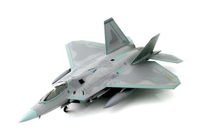Lockheed F-22 Raptor 10-4193/AK, 3rd Wing, 2014, 1:72, Hobby Master