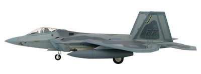 Lockheed F-22 Raptor AF 10194, 94th FS, 1st FW, Base Aérea de Langley, Virginia, 1:72, Hobby Master