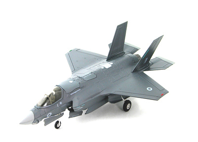 Lockheed F-35B ZM135, Royal Air Force, Edwards AFB, 1:72, Hobby Master
