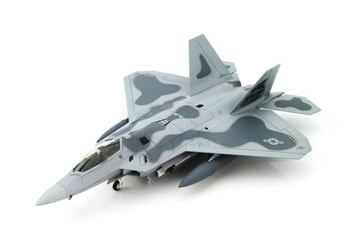 Lockheed F/A-22 Raptor AF 91-4002, Edwards AFB 2002, 1:72, Hobby Master