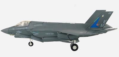 Lockheed Martin F-35B Lightning II 168057,  VMFAT-501, Base Aérea de Eglin, 2014, 1:72, Hobby Master