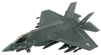 "Lockheed Martin F-35C 168735 ""ED-104"", Edwards AFB, California 2016, 1:72, Hobby Master"
