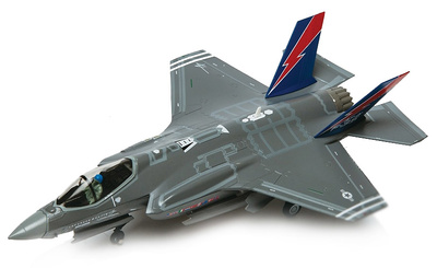 Lockheed Martin F35A Lighning II JSF, Edwards Air Force Base, 1:72, Air Force One