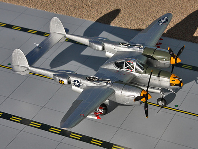 Lockheed P-38 Lightning 'Dick Bong', Phillipines, 1944, 1:72, Gemini Aces