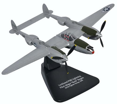 "Lockheed P-38J Lightning,  US 367th Fighter Group, piloto Major Robert ""Buck"" Rogers, 1:72, Oxford"