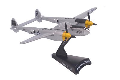 Lockheed P-38J Lightning,1:115, Model Power