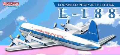 Lockheed Prop-Jet Electra L-188 (Primer L-188 Prototipo), 1:400, Dragon Wings
