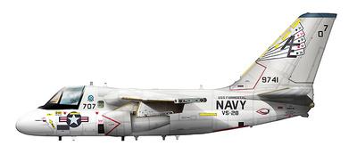 "Lockheed S-3A Viking BuNo 159741, VS-28 ""Hukkers"" USS Forrestal, US Navy, 1:72, Hobby Master"